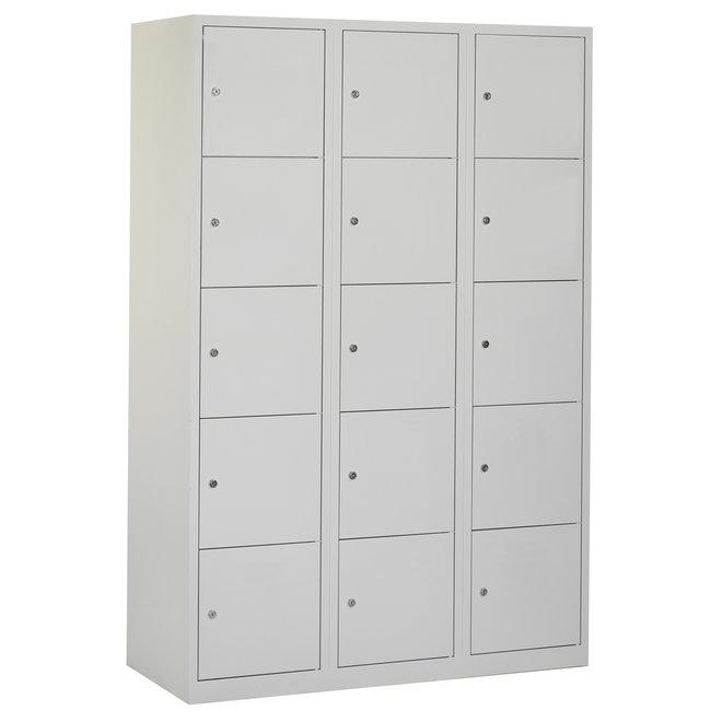 Locker 15-deurs APHT.3.15.GR/GR Kolom 40 cm Breed