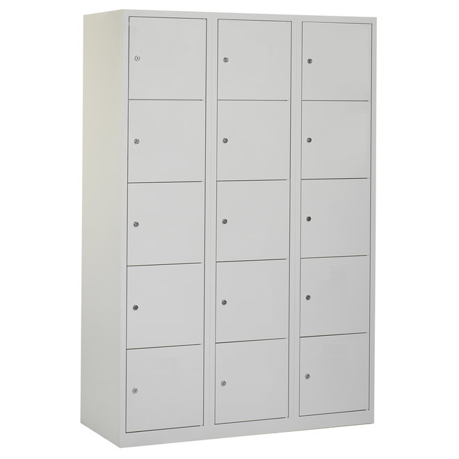 Locker 15-deurs APHT.3.15.GR/GR K40