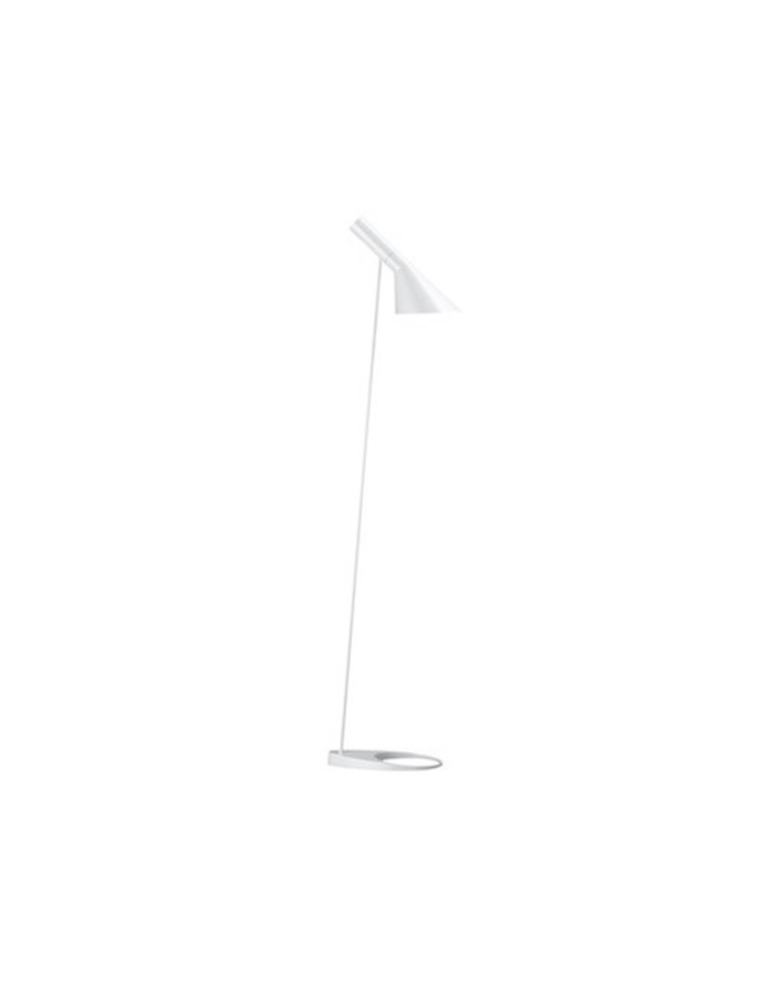 LOUIS POULSEN AJ FLOOR LAMP IN WHITE