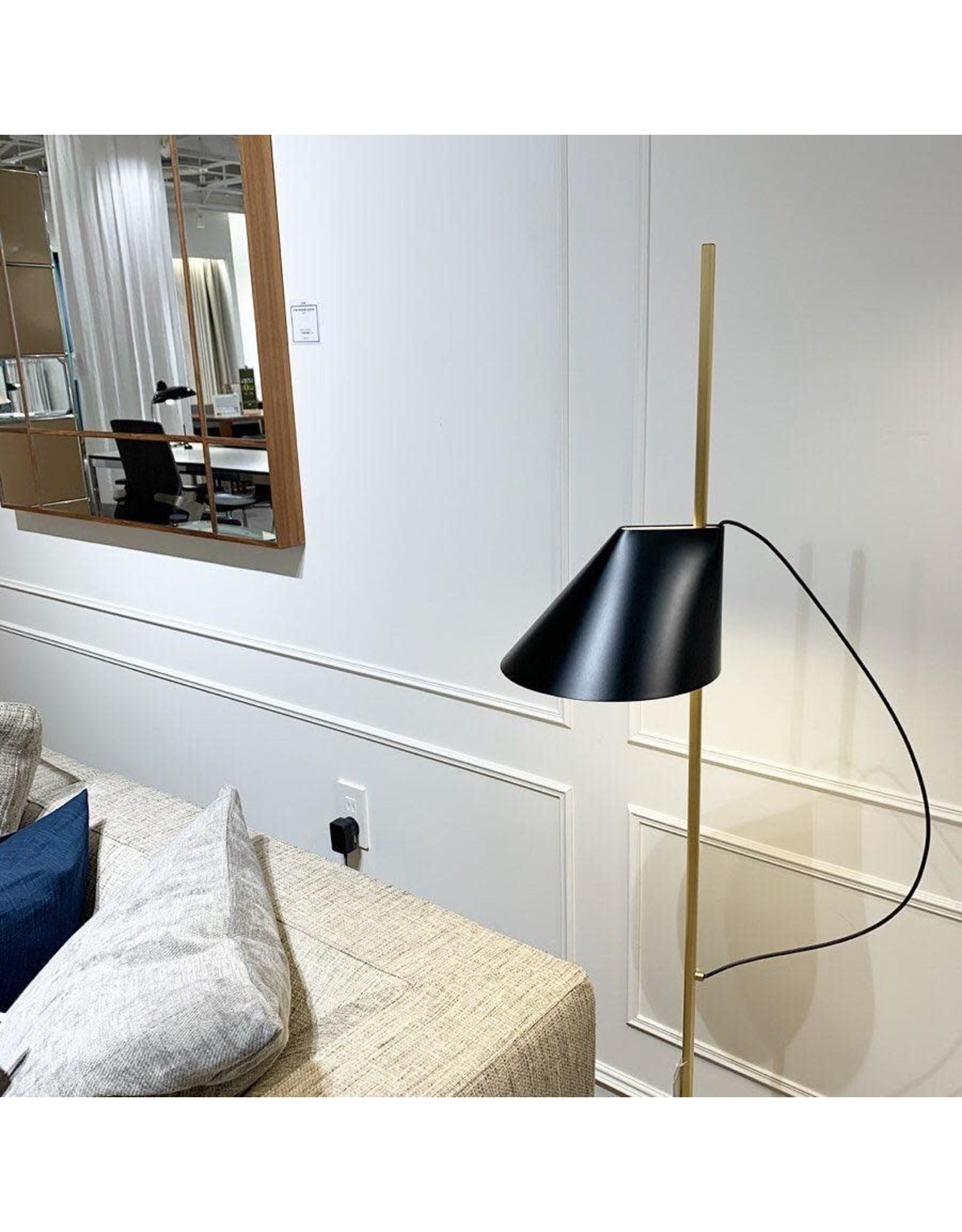 LOUIS POULSEN YUH LED FLOOR LAMP IN BRASS