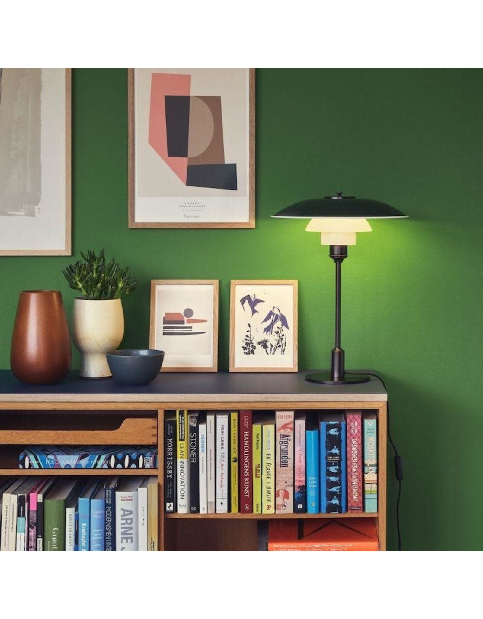 LOUIS POULSEN PH 3 1/2-2 1/2 TABLE LAMP IN COLOR FINISH