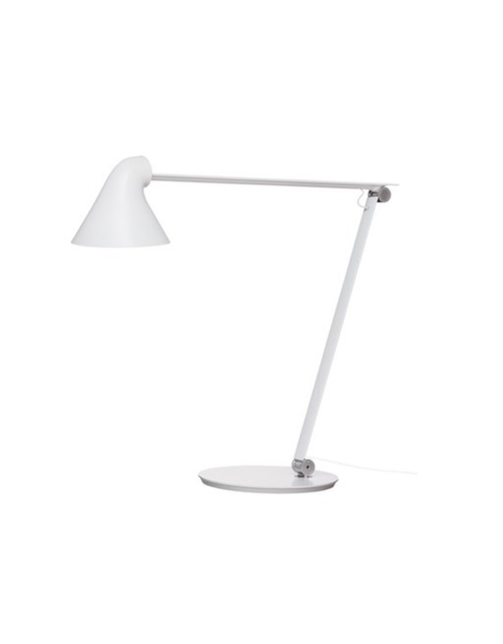 LOUIS POULSEN NJP TABLE LAMP, WHITE FINISH