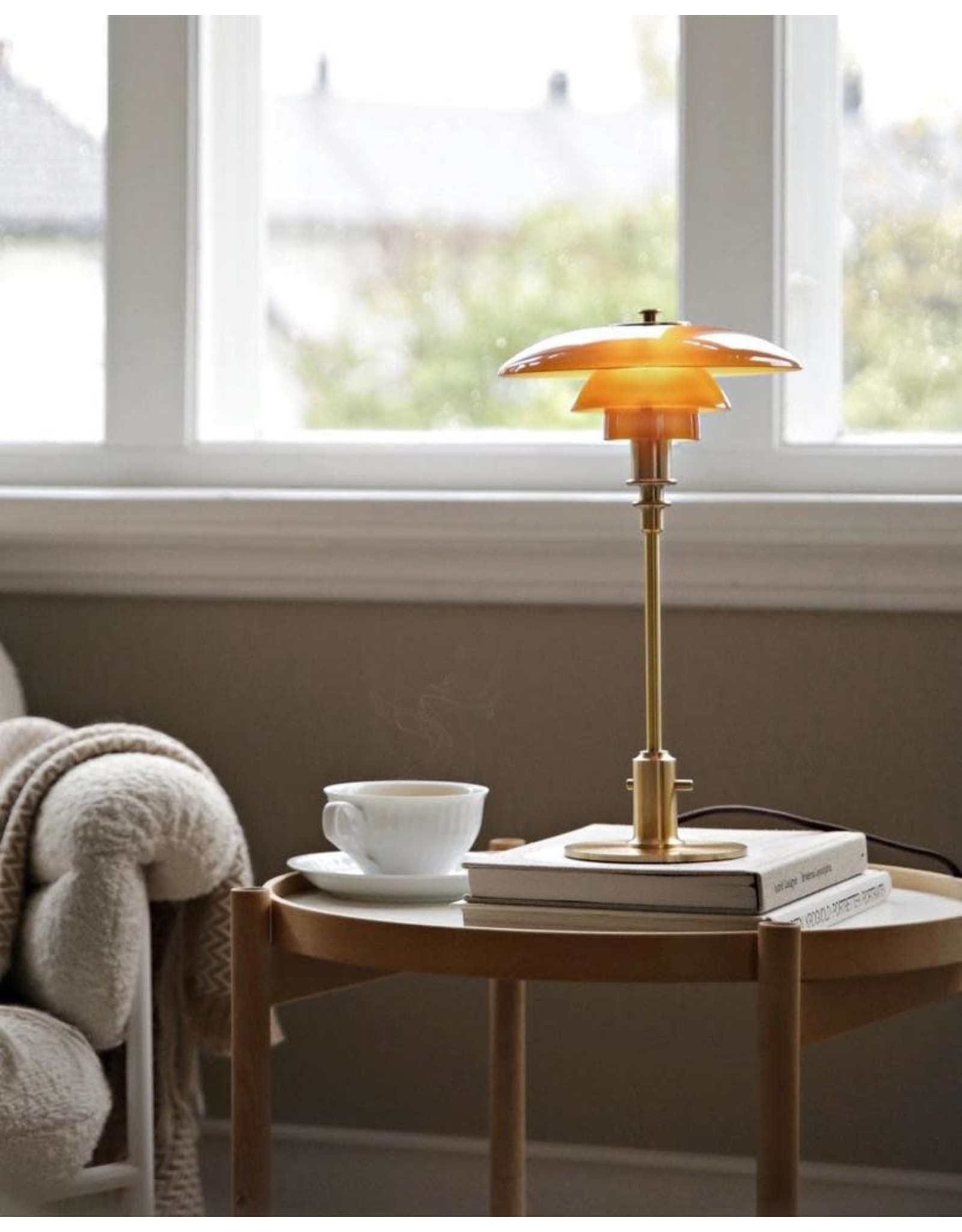 LOUIS POULSEN PH 2/1 TABLE LAMP LIMITED EDITION