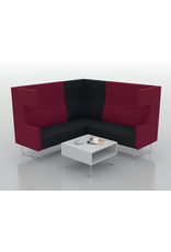 VAD PIVOT CAVE EXTRA HIGH 3 SEATER SOFA