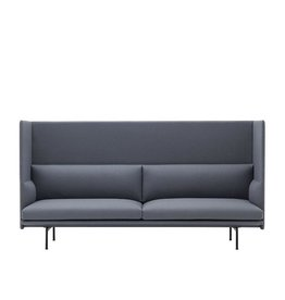 MUUTO 28488 OUTLINE HIGHBACK 3-SEATER SOFA