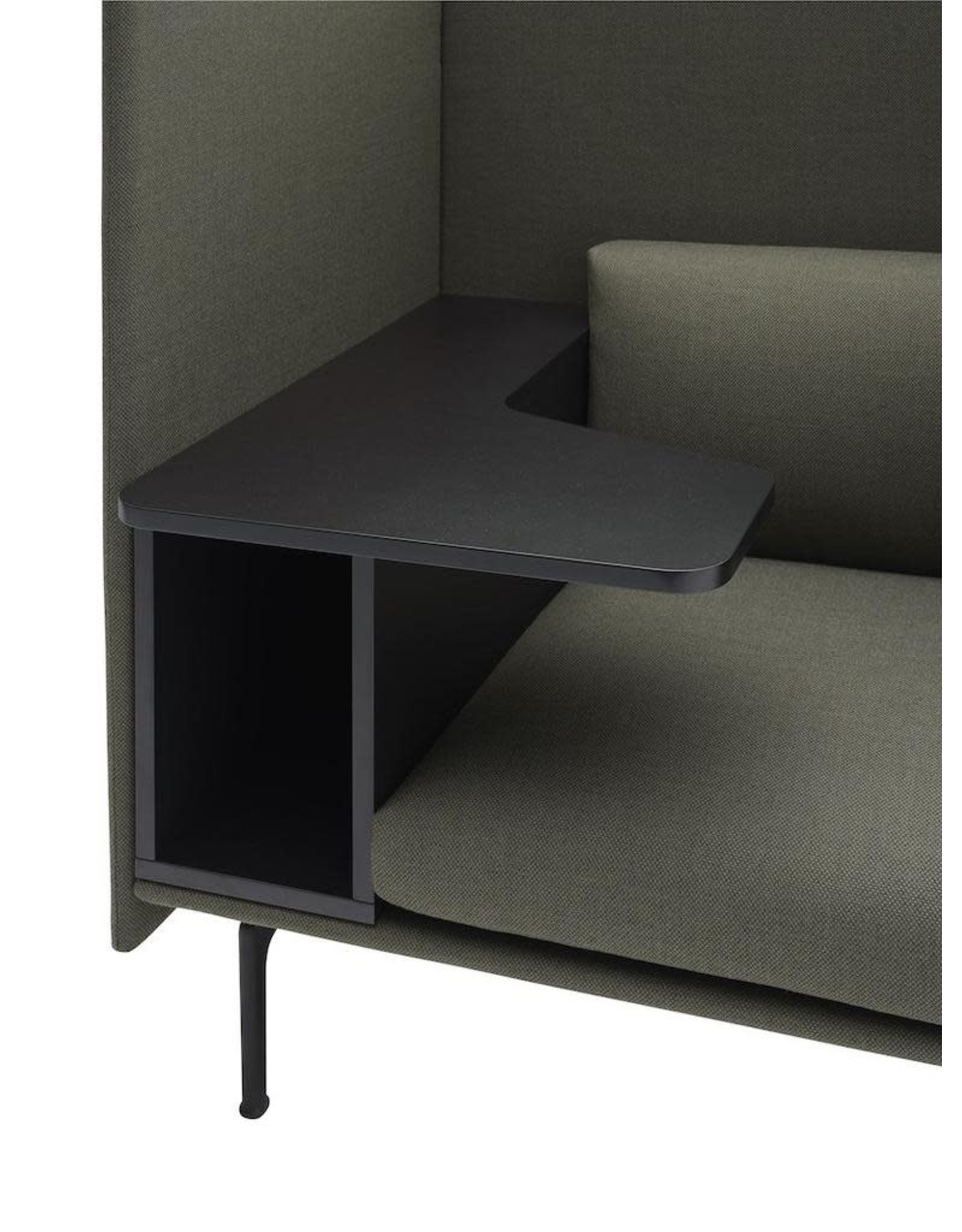 MUUTO OUTLINE HIGHBACK WORK 1-SEATER RIGHT