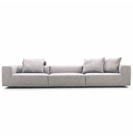 EILERSEN BASELINE 3 SEATER SOFA, UPHOLSTERED IN #46 MUMBAI FABRIC