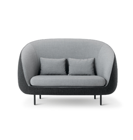 FREDERICIA 1632 HAIKU HIGH BACK 2-SEATER SOFA