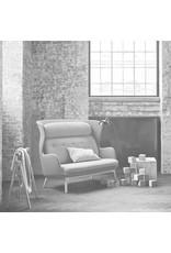 JH110 RO 暖灰色兩座位沙發