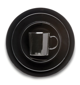 IITTALA TEEMA BLACK TABLEWARE