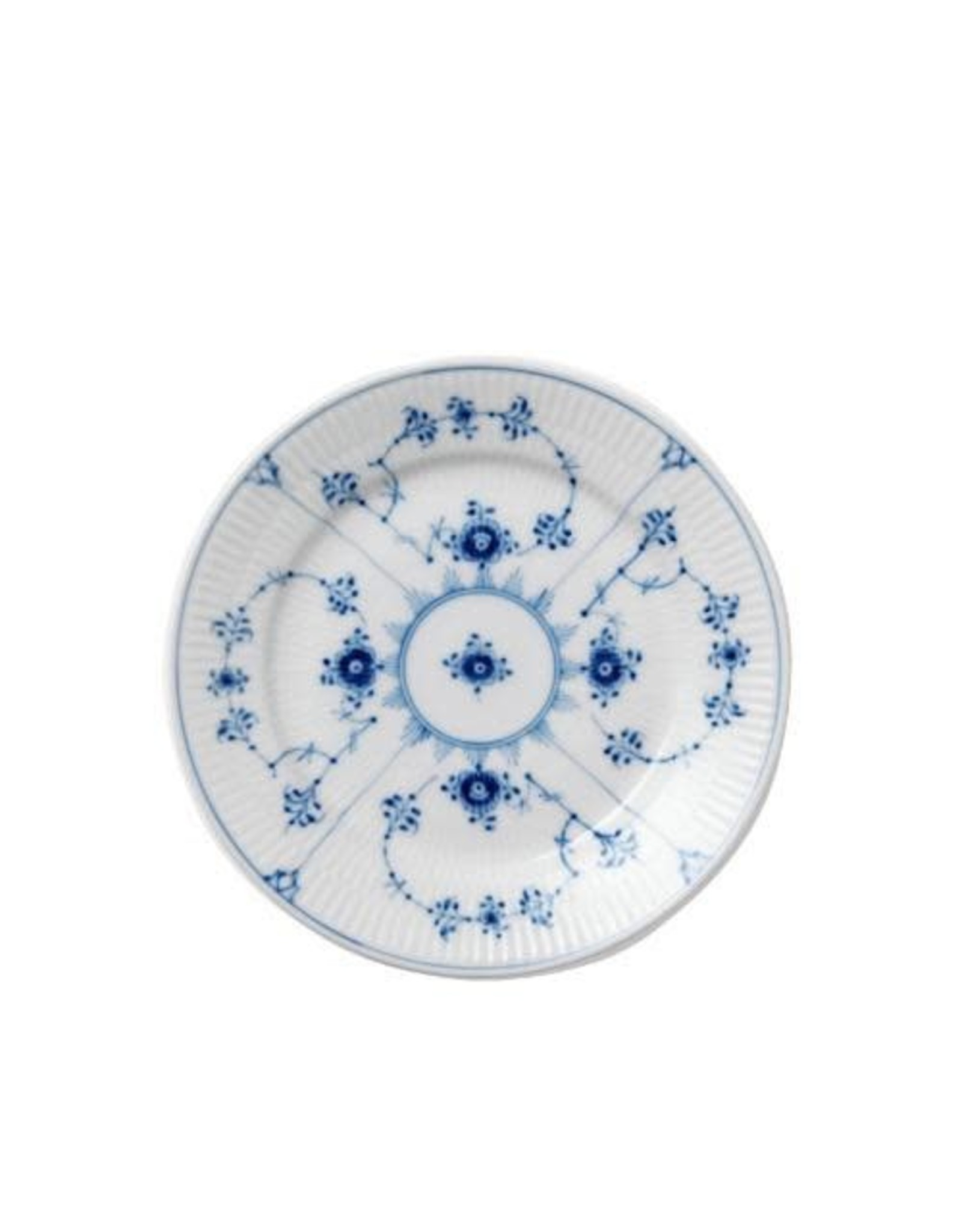 ROYAL COPENHAGEN BLUE FLUTED PLAIN TABLEWARE