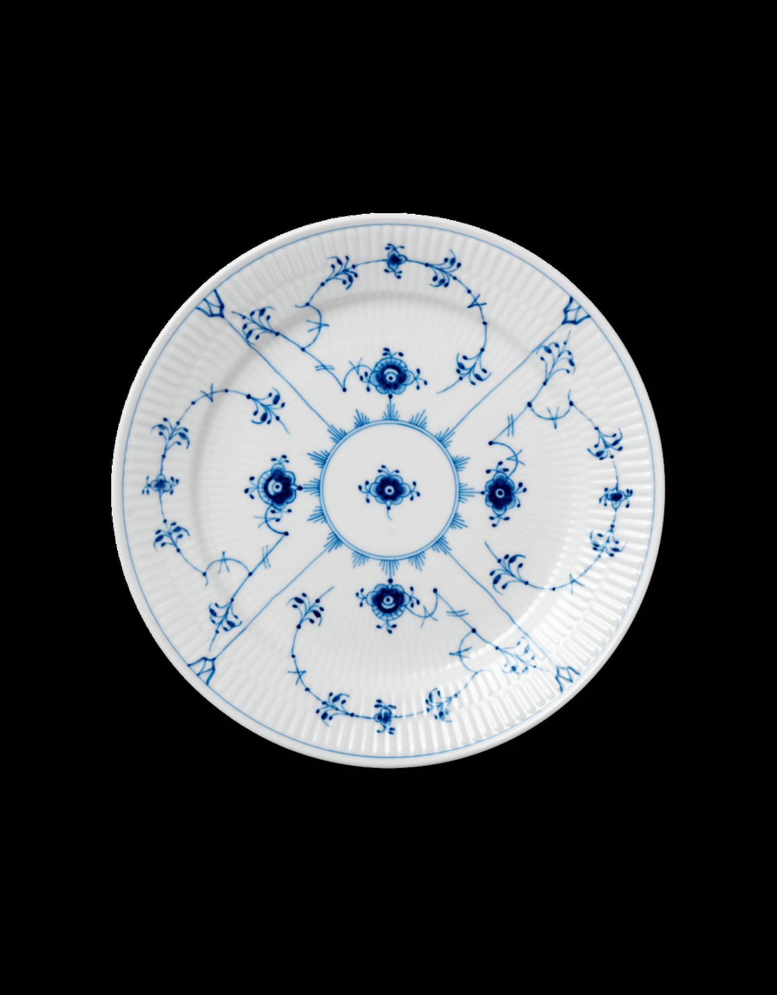 皇家哥本哈根 BLUE FLUTED PLAIN 平邊唐草餐具