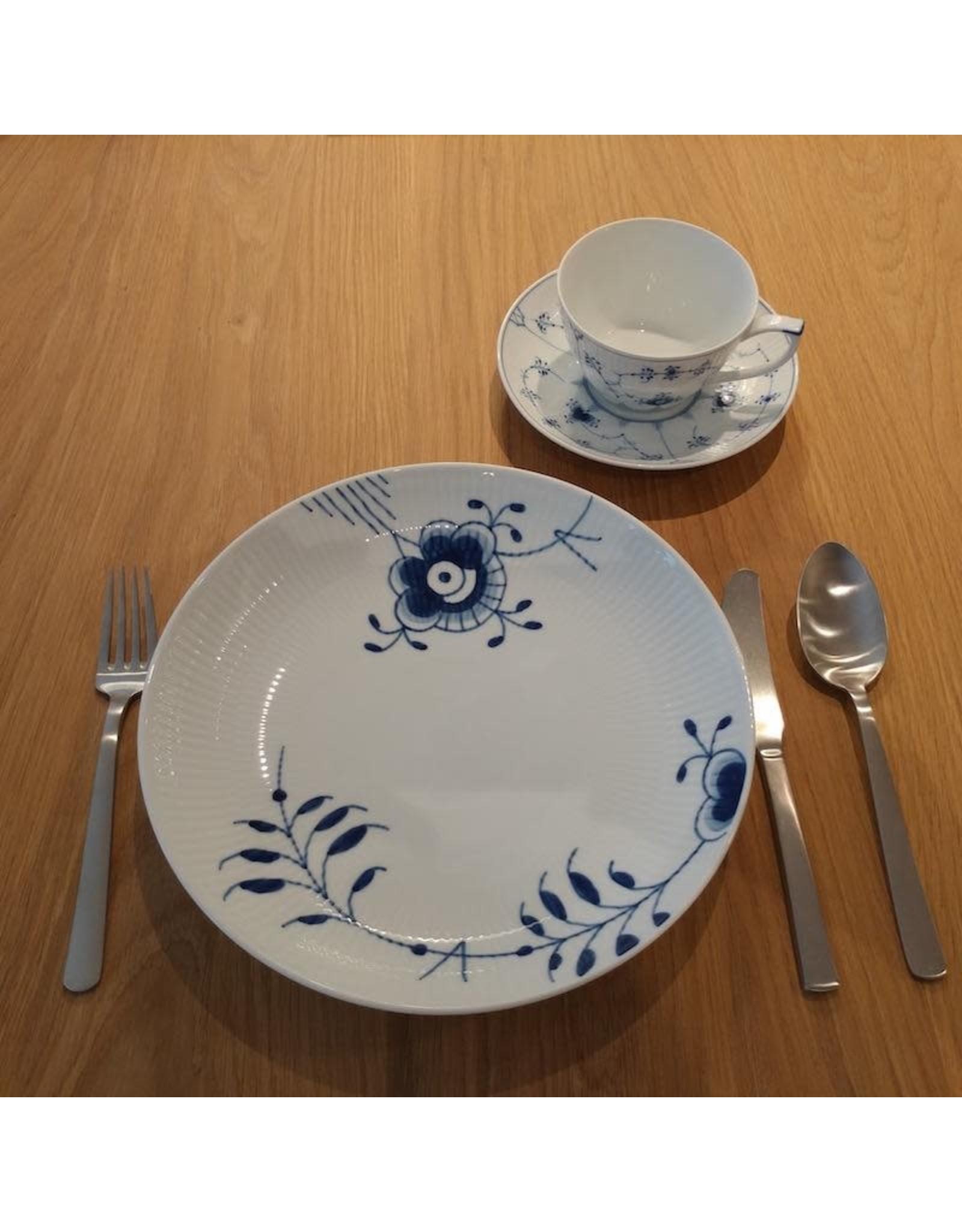 ROYAL COPENHAGEN BLUE FLUTED MEGA MODERN PLATE