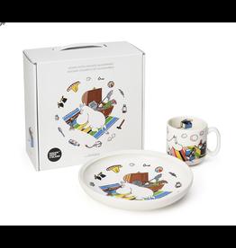 ARABIA MOOMIN CHILDREN SET MOOMINTROLL 姆明系列小朋友餐具套裝-姆明