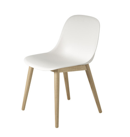 MUUTO FIBER SIDE CHAIR 白色纤维椅子