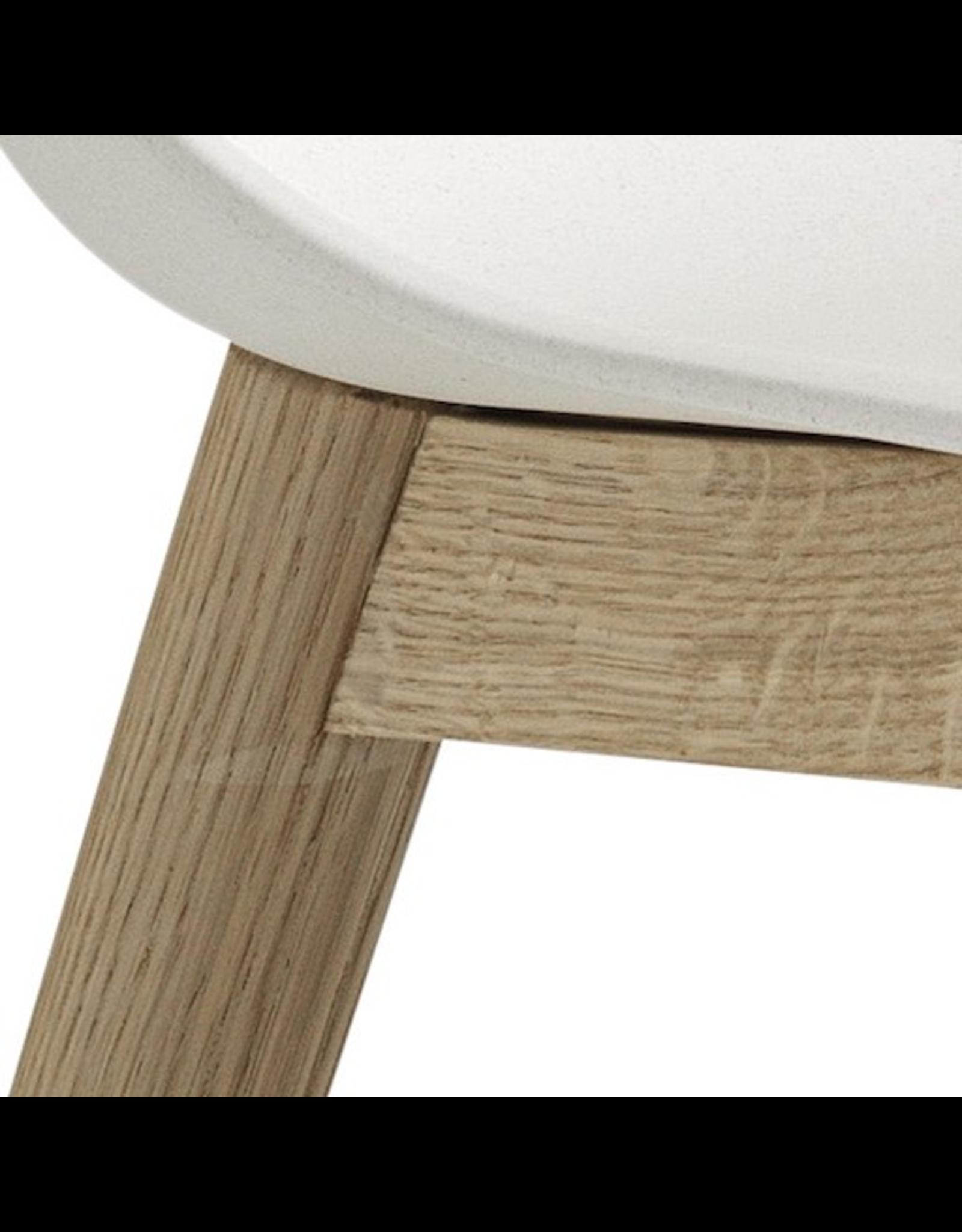 FIBER SIDE CHAIR白色纤维椅子