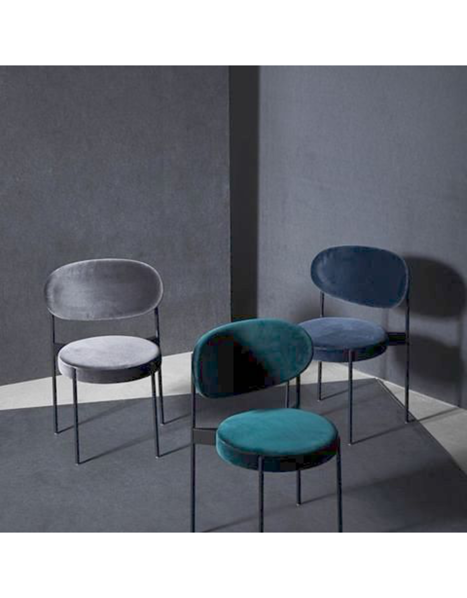 SERIES 430 CHAIR FULLY UPHOLSTERED IN FABRIC