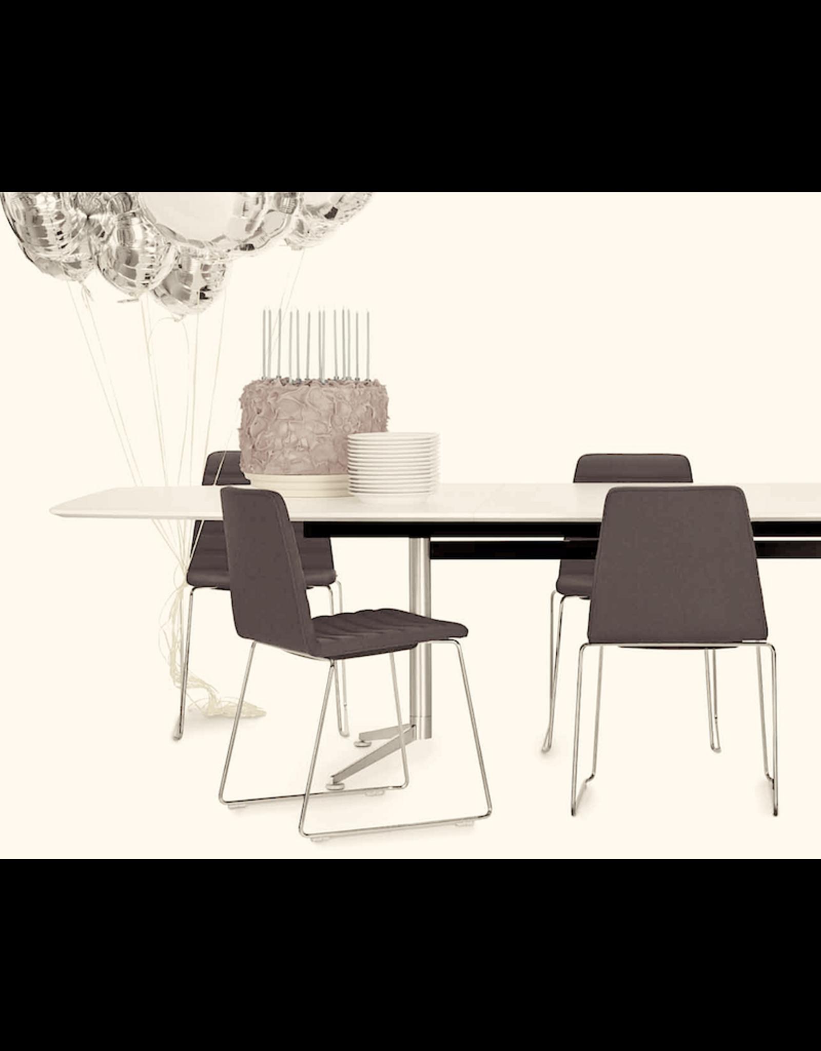 SPINAL CHAIR 44 可叠放镀铬椅子