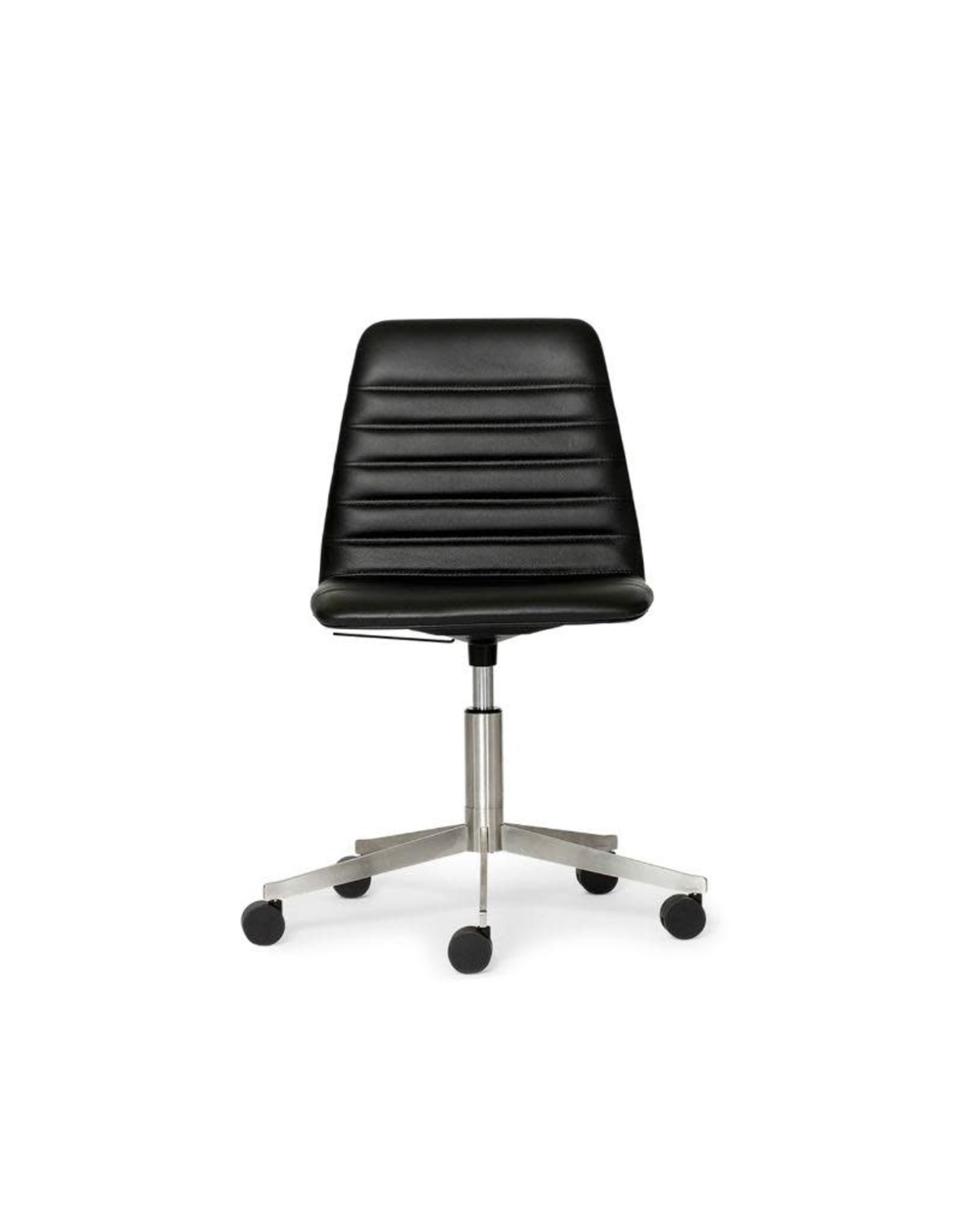 PAUSTIAN SPINAL CHAIR 44 WITH SWIVEL BASE ON CASTORS