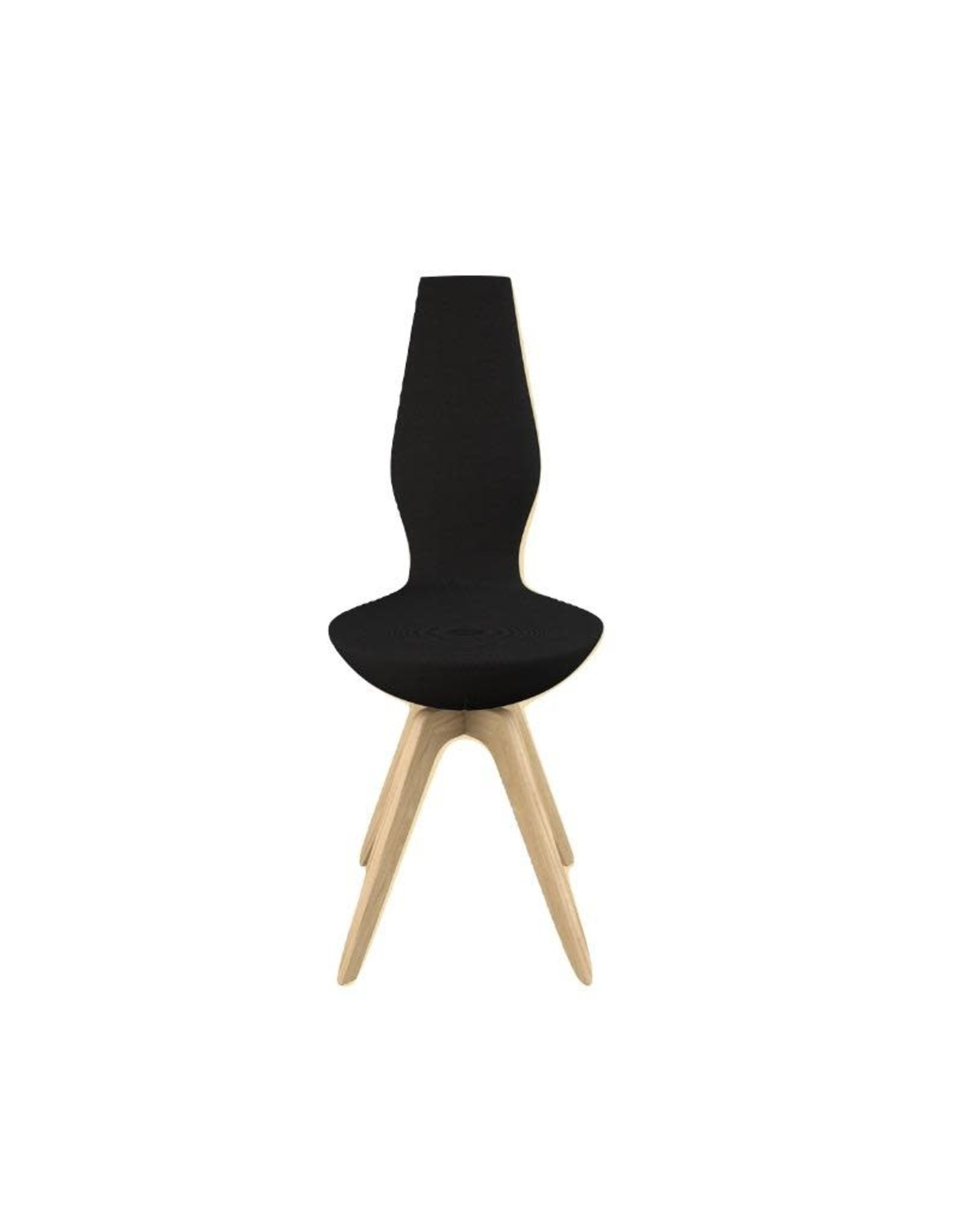 VARIER DATE CHAIR IN STANDARD BLACK FAME FABRIC