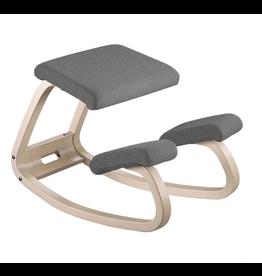 VARIER VARIABLE BALANS 灰色跪椅