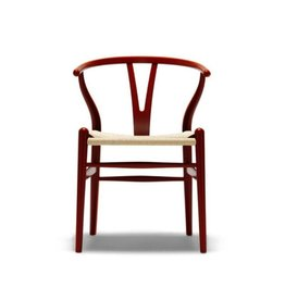 CH24 WISHBONE CHAIR IN COLOR LACQUER FINISH