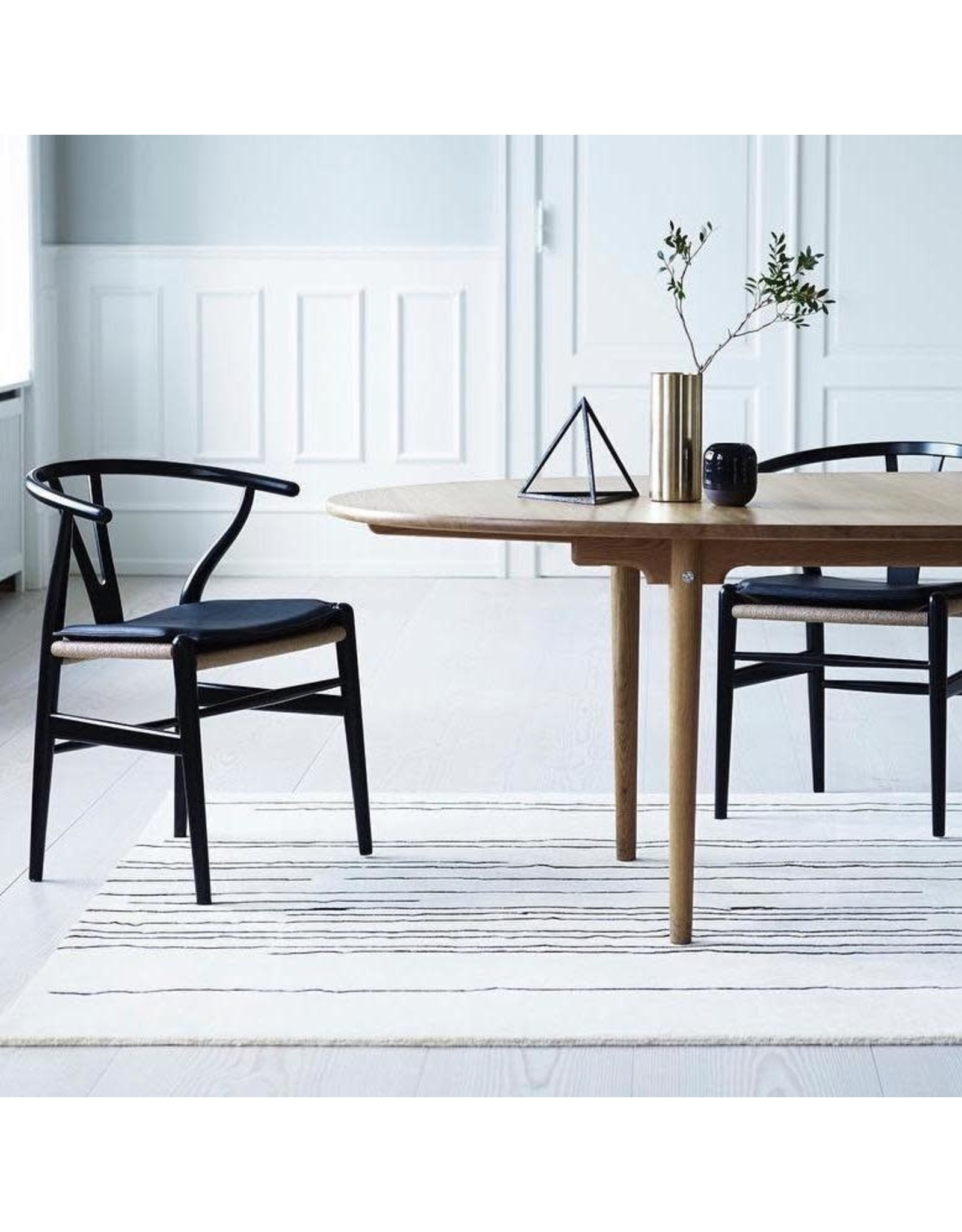CARL HANSEN & SON CH24 WISHBONE CHAIR IN COLOR LACQUER FINISH