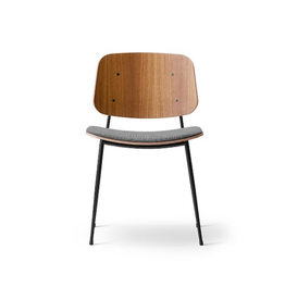 3061 SOBORG CHAIR IN SMOKED OAK