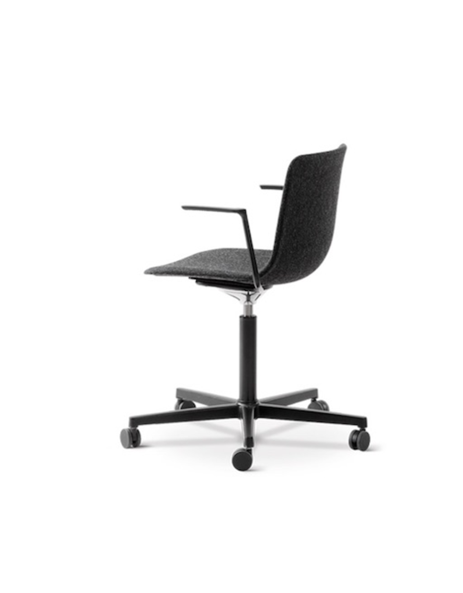 FREDERICIA 4032 PATO OFFICE ARMCHAIR IN GREY FABRIC