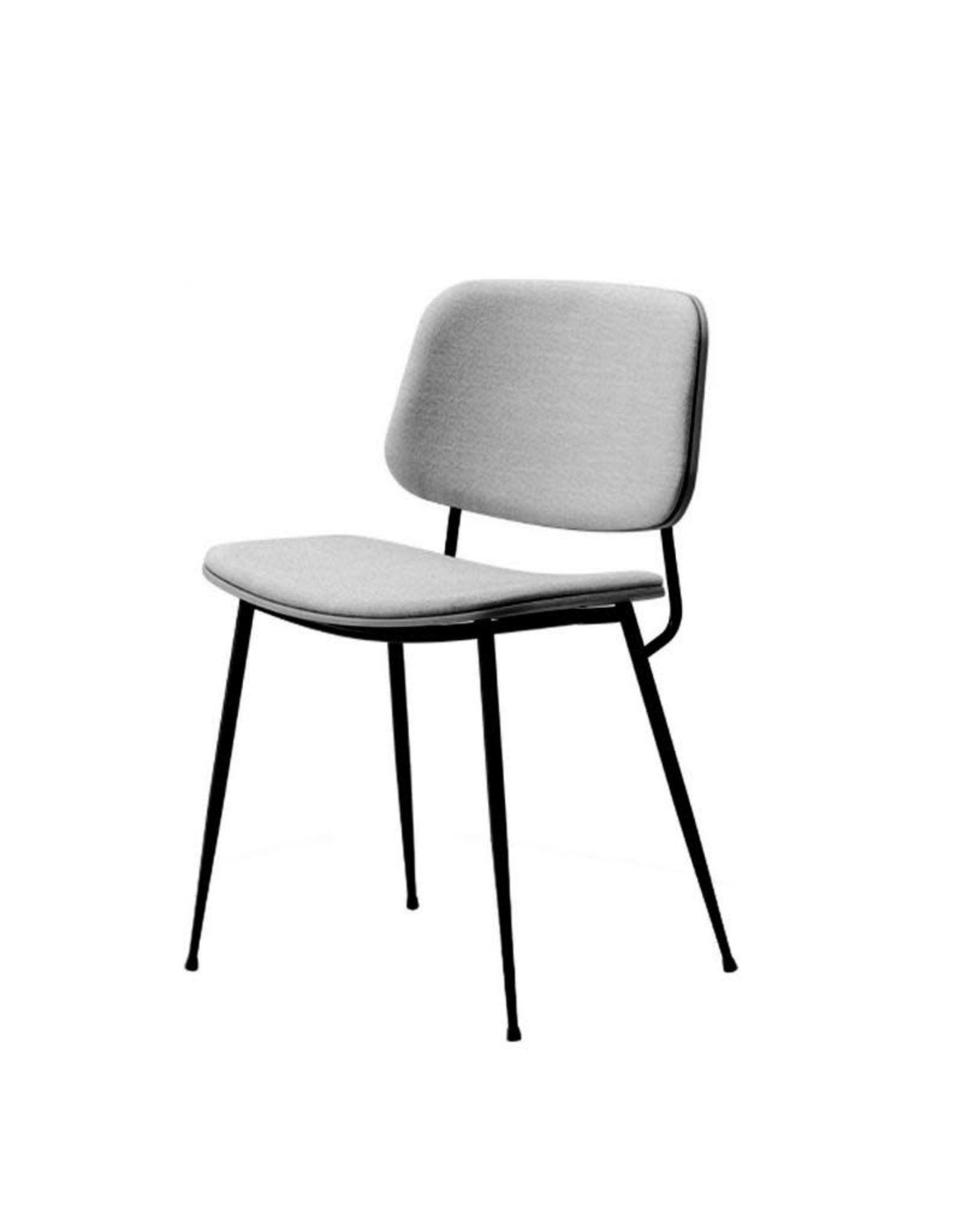FREDERICIA 3062 SOBORG 黑色椅子
