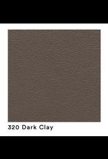 4222 PATO 木椅 #320 DARK CLAY 皮革全包裹