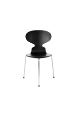 3100 ANT CHAIR IN BLACK COLOURED ASH