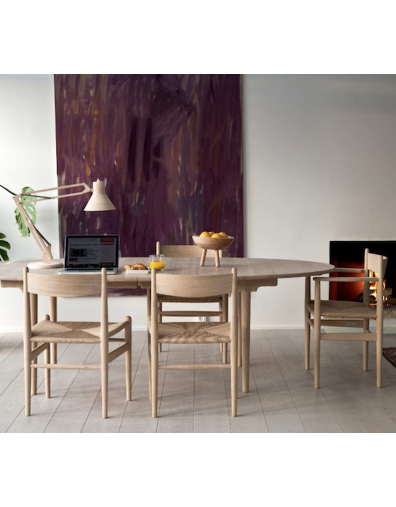 CH36 櫸木餐椅