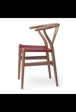 CARL HANSEN & SON CH24P WISHBONE 山羊皮坐墊叉骨椅 (生日特別版)