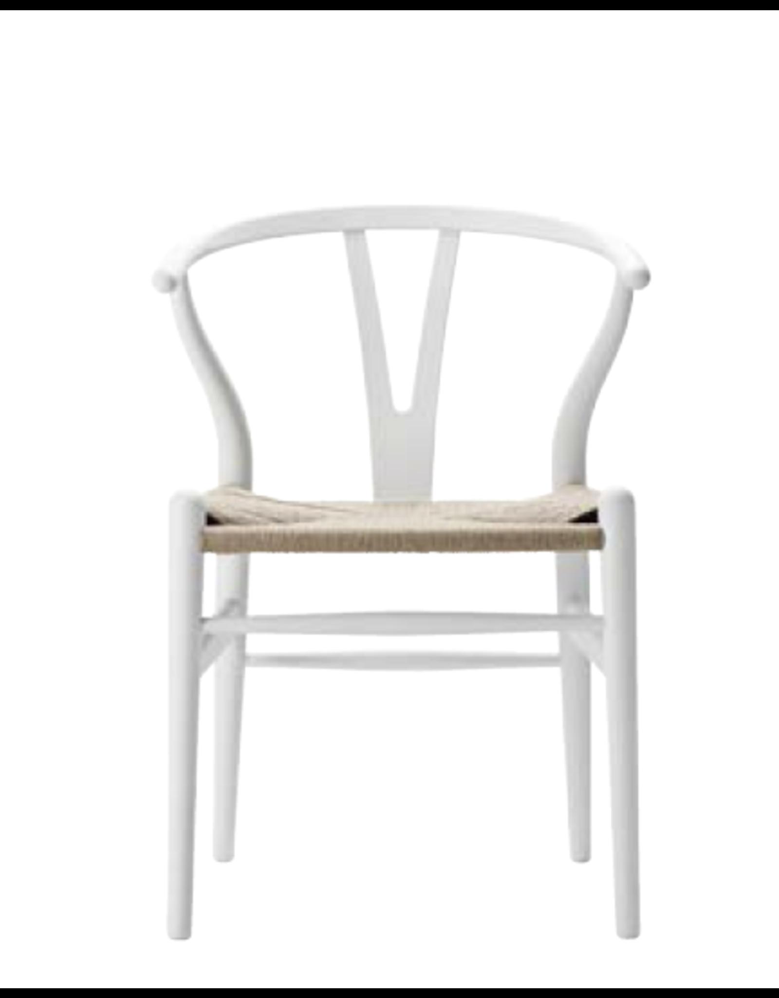 CARL HANSEN & SON CH24 限量版椅子, 柔和白色帶簽名的特殊版