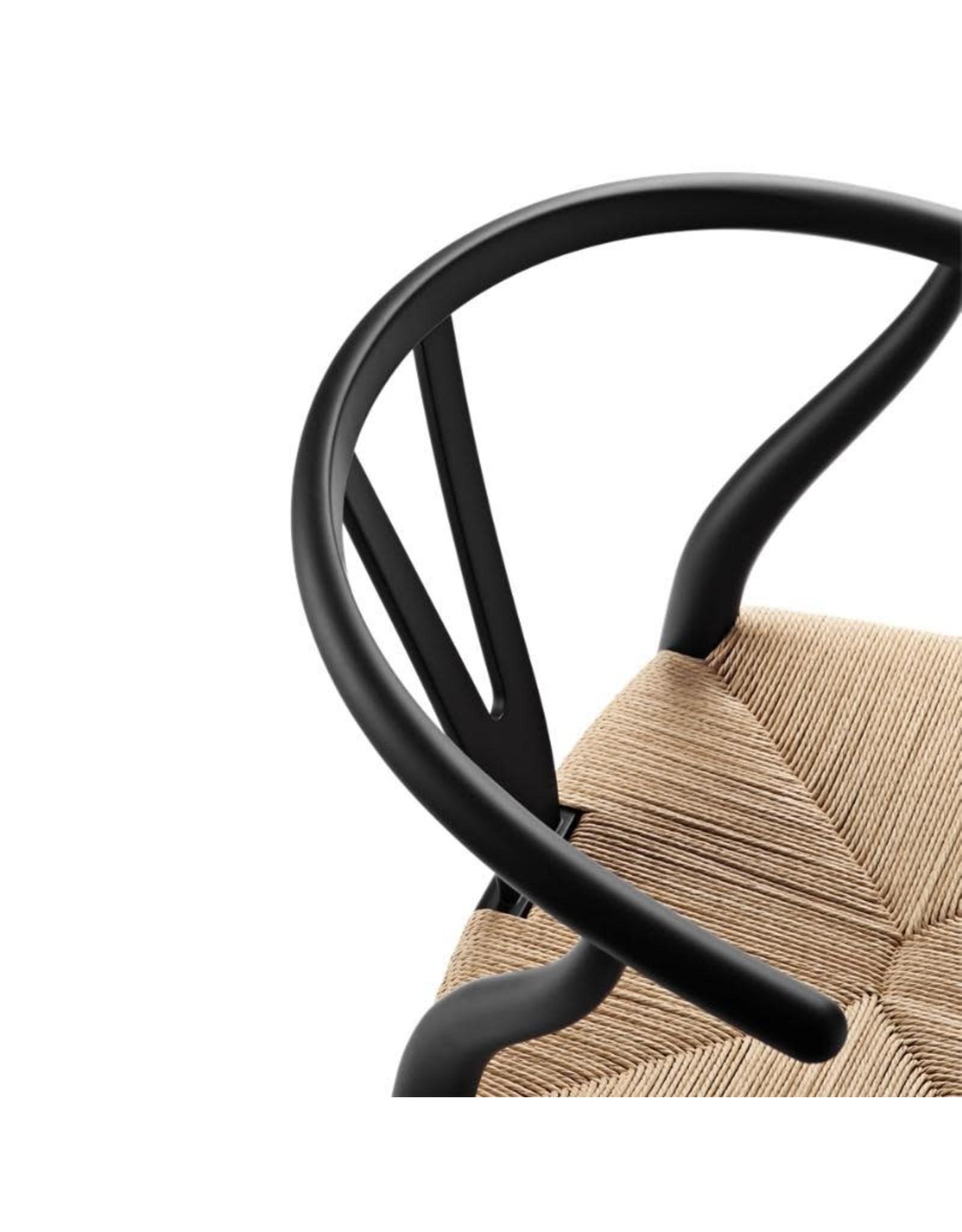 CH24 限量版叉骨椅, 帶有簽名