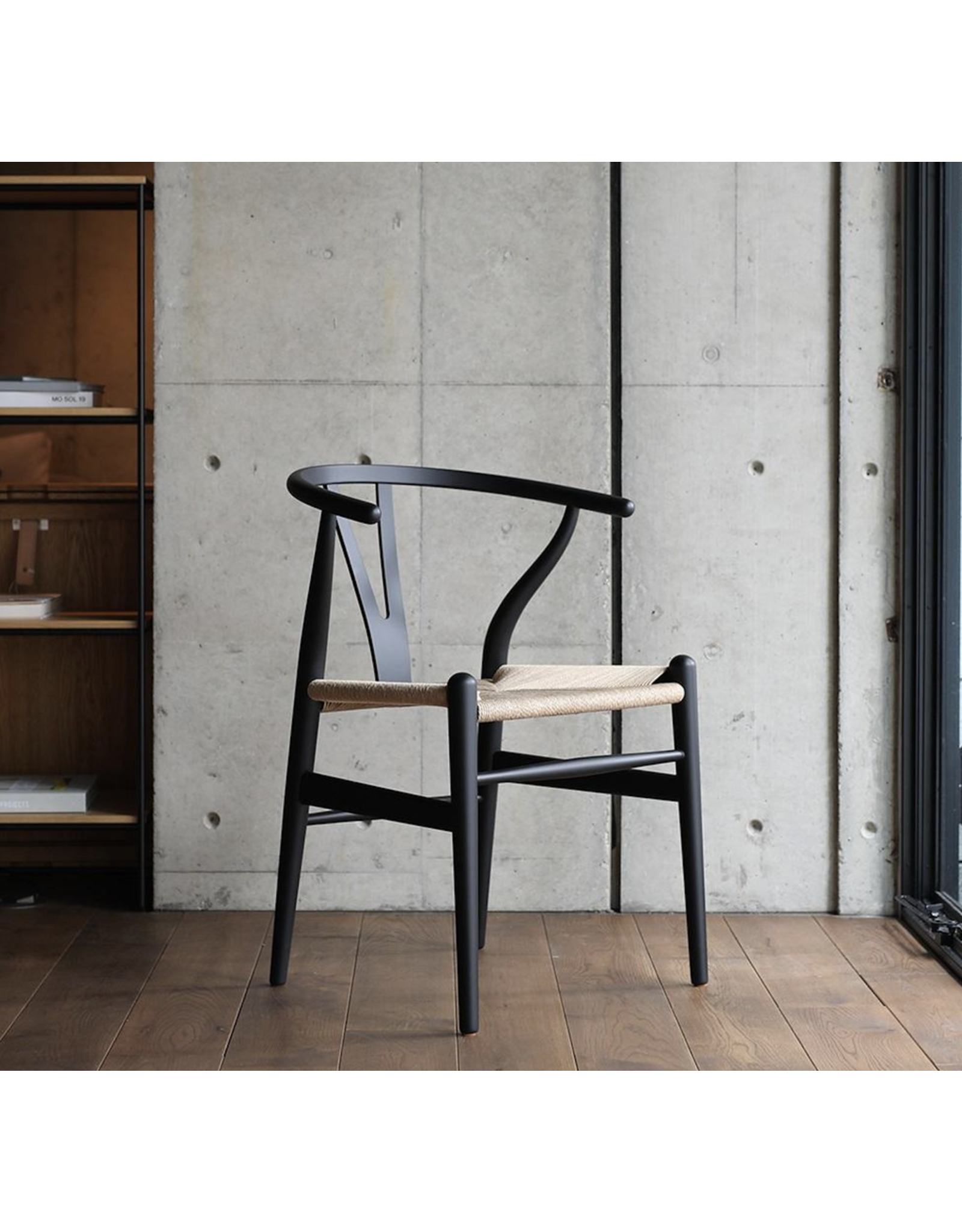 CARL HANSEN & SON CH24 LIMITED, SIGNED SPECIAL-EDITION WISHBONE CHAIR