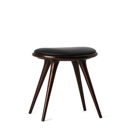 MATER ETHICAL LOW STOOL IN DARK STAINED BEECHWOOD