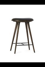 ETHICAL 优质灰橡木表面中高凳