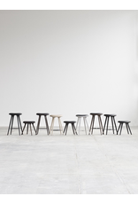 MATER ETHICAL MEDIUM HIGH STOOL, PREMIUM EDITION IN SIRKA GREY FINISHED OAK