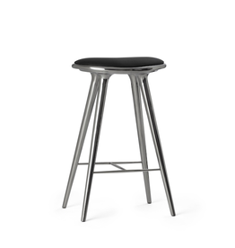 MATER ETHICAL HIGH STOOL, RECYCLED ALUMINIUM