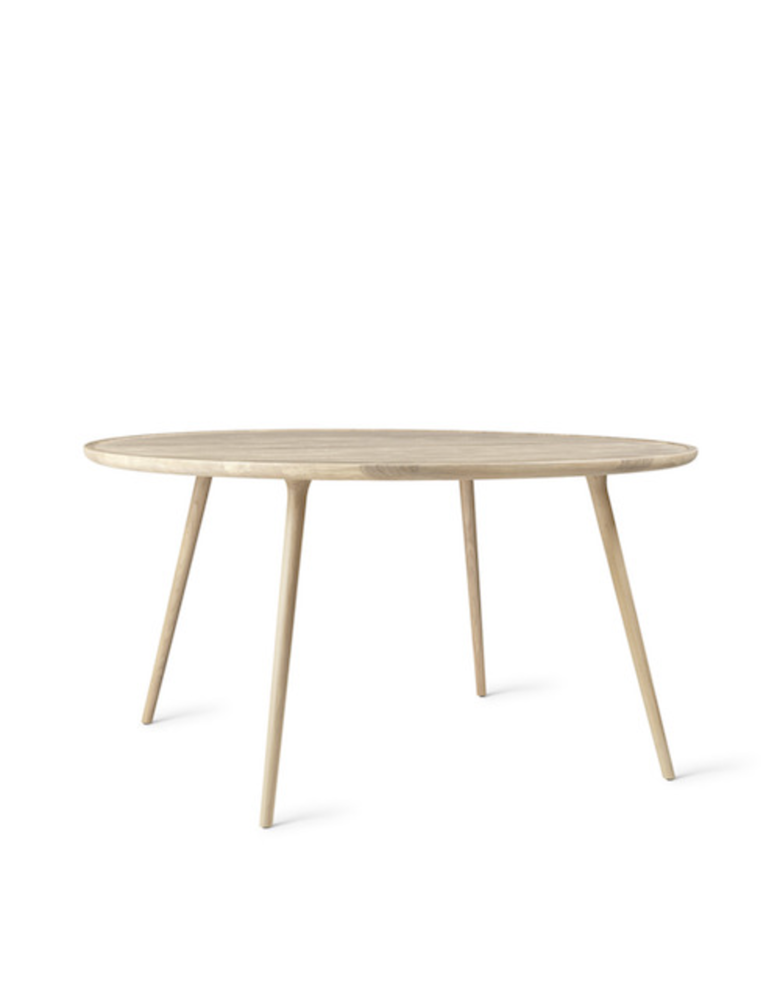 MATER ACCENT DINING TABLE IN MATT LACQUERED OAK WOOD