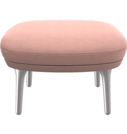 JH11 MATCHING FOOTSTOOL FOR LIGHT PINK COLOUR RO CHAIR