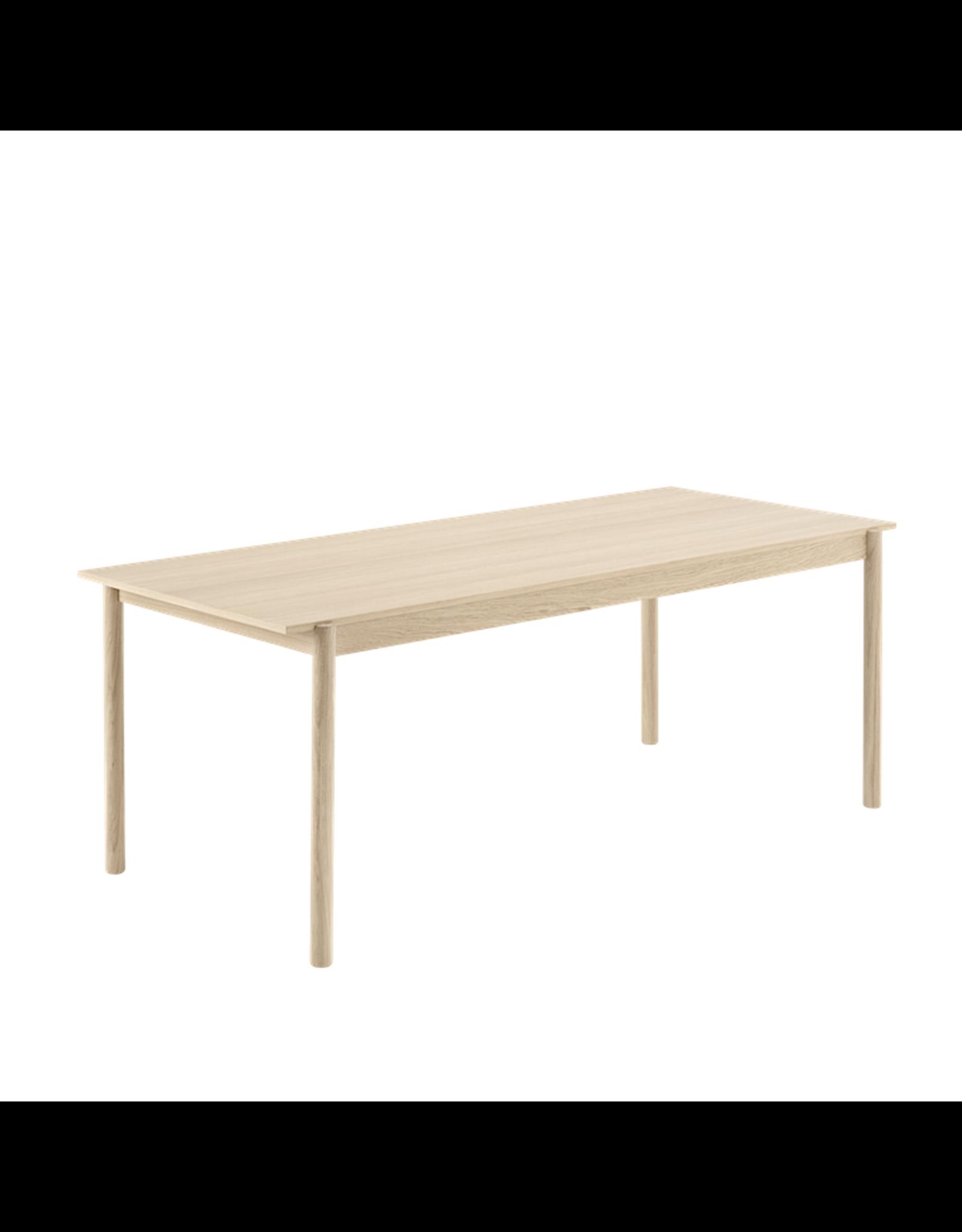 MUUTO LINEAR OAK TABLE
