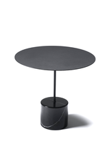 CALIBRE LOW MARBLE SIDE TABLE