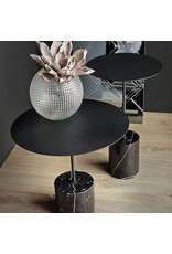 CALIBRE HIGH MARBLE SIDE TABLE