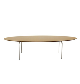 KARL ANDERSSON & SÖNER TRIPPO OVAL SHAPED COFFEE TABLE IN WALNUT