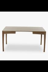 SNEDKERGAARDEN MATZ 实木核桃木桌子连两个抽屉