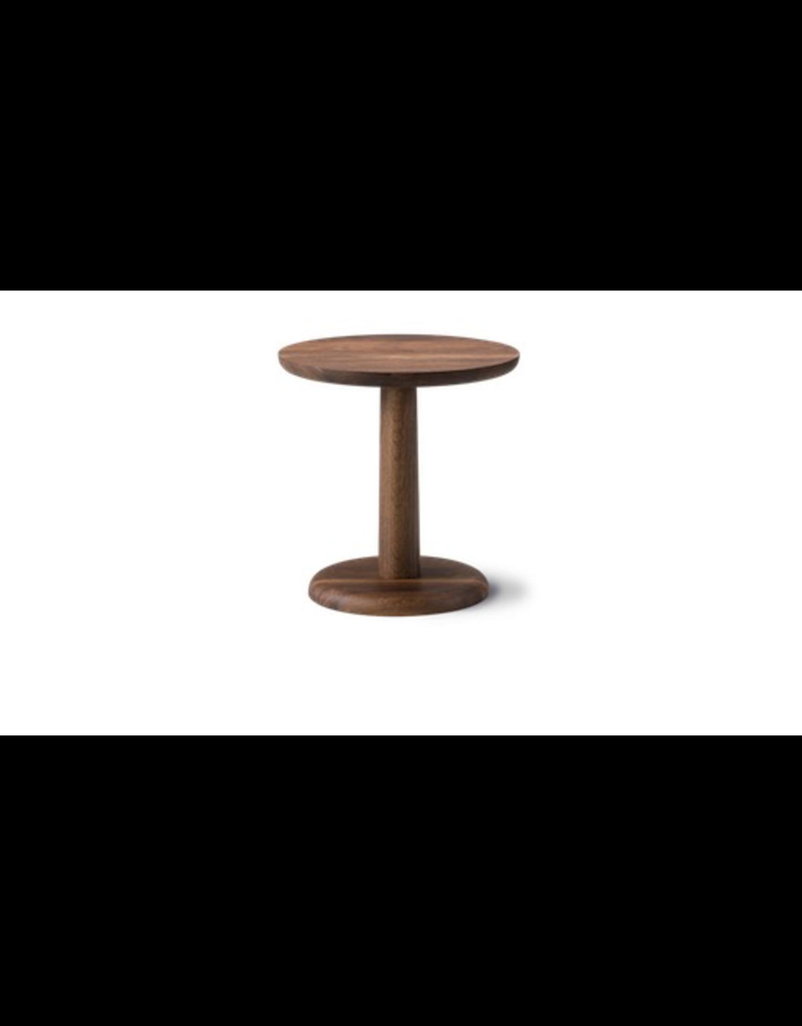 1290 PON 煙燻橡木圓咖啡桌