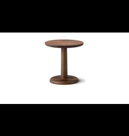 FREDERICIA 1290 PON ROUND COFFEE TABLE IN SMOKED OAK